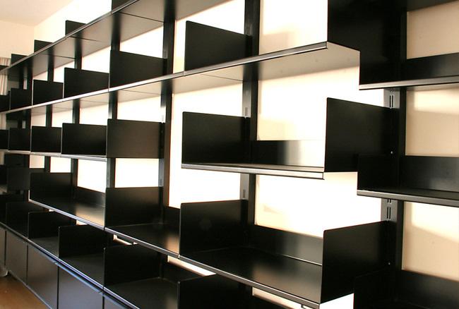 biblioth que sur mesure dominique paolini. Black Bedroom Furniture Sets. Home Design Ideas